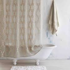 Ivory Linen Curtains Ivory Linen Totem Shower Curtain Bathroom Pinterest Totems