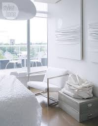 All White Bedroom by Condo Tour A Warm All White Design Style At Home