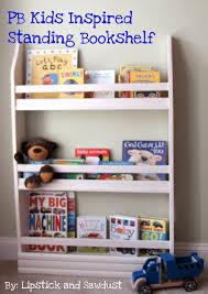 lipstick and sawdust pb inspired bookshelves
