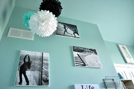 Black And White Bedroom Teenage A Room In Aqua And Black Reveal Cleverly Inspired