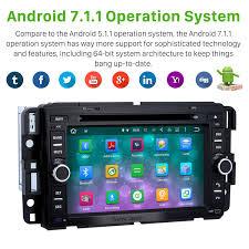 radio android 7 1 1 gps navigation system 2007 2011 gmc acadia