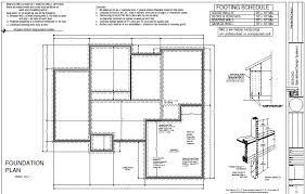 Garage Plans Sds Plans by House3 Foundation Plan Sds Plans