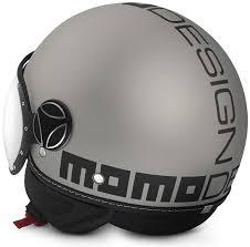 Momo Fgtr Evo Mastic Matt Logo Black Motorcycle Helmets