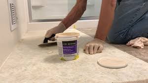 Vinyl Tile Installation Luxury Vinyl Tile Installation Step 3 Spread The Adhesive Youtube