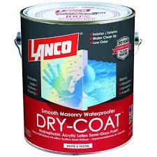 lanco dry coat 1 gal accent semi gloss waterproofing paint dc3048