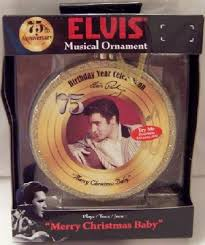 elvis merry baby 75th anniversary musical collectible