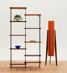 room dividers shelves black metal room divider shelves with dark brown wood racks on
