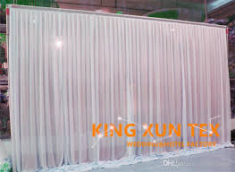 wedding backdrop stand malaysia new design wedding backdrop curtain factory price in white color