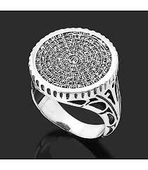 silver ring for men blue enamel men silver ring from turkstyleshop silver jewelry