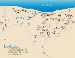 Mi Map Homestead Map Leelanau Vacation Rentals