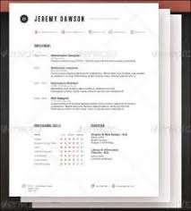 19 attractive resume templates