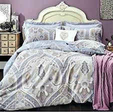 Duvet Cover Lavender Light Purple Duvet Covers Lavender Lilac Bohemian Paisley Duvet