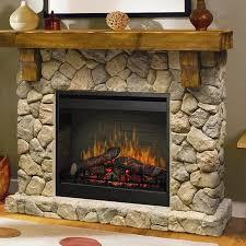 Dimplex Electric Fireplace Insert Dimplex Fieldstone 55 Inch Electric Fireplace Inner Glow Logs