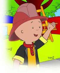 caillou watched stay preschool