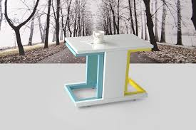story 3 pieces lacquer nesting table home designer goods