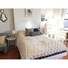 mya 6ft super king size opal white wooden bed frame alpine white
