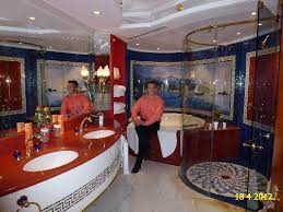 Interior Of Burj Al Arab Inside Bathroom Of Our Panoramic Suite Nbr 1212 12th Floor