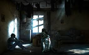 wallpaper this war of mine game civil war bathroom darkness