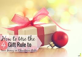 will the 4 gift rule work for your family this frugal