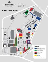 Georgia State University Campus Map by Maps Oglethorpe University