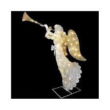 outdoor lighted christmas angel decoration 48 inches yard lawn