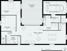 plan de maison a etage 5 chambres plan maison etage 4 chambres gratuit génial plan maison plain pied 2
