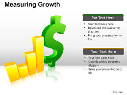 measuring growth financial icons planning powerpoint presentation tem u2026