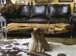 tree trunk end table bradley s furniture etc rustic stump end tables