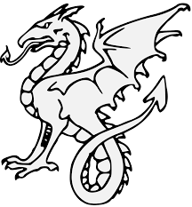 wyvern traceable heraldic art