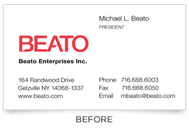 Should I Put A Qr Code On My Business Card How I Redesigned My Business Card For Social Media