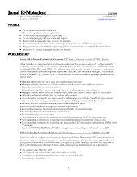 qa tester resume sample software quality assurance resume qa