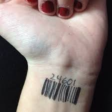 barcode tattoos and designs page 62