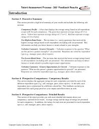 360 evaluation confidential 14 talent assessment process 360