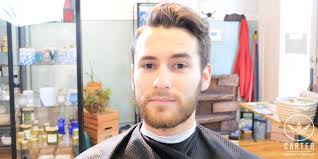 hard part hair men best hard part hairstyle soccer player inspired haircut classy