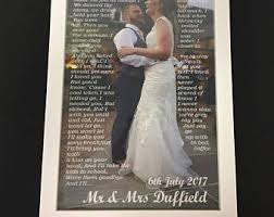 wedding dress lyrics in you didn t lyrics print
