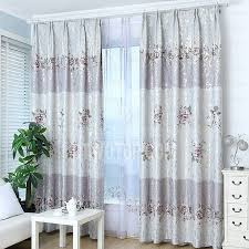 Thick Purple Curtains Luxury Silver And Purple Thick Fabric Insulated Blackout Curtains