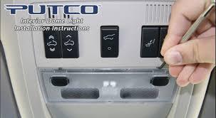 Putco Led Interior Lights How To Install A Putco Led Dome Light Kit On Your Jeep Wrangler