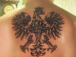 polish falcon tattoo designs cross pictures to pin on pinterest