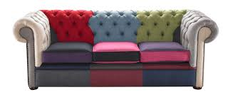 Chesterfield Sofas Uk by Patchwork Linen Suite Handcrafted In The Uk
