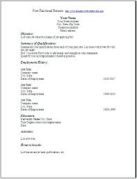 resume templates free printable blank resume forms pictures of free printable resume