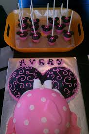 minnie mouse baby shower cake baby a ideas pinterest minnie