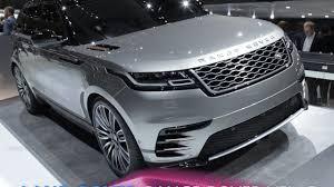 range rover concept 2017 land rover range rover velar en direct du salon de genève 2017