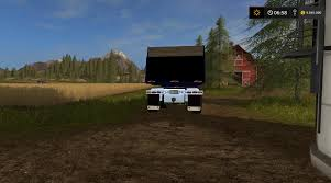 freightliner dump truck freightliner fld12064sd dump v1 1 fs2017 farming simulator 2017