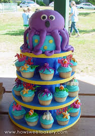 Party Ideas The Best Under The Sea Birthday Cakes Octopus Cake