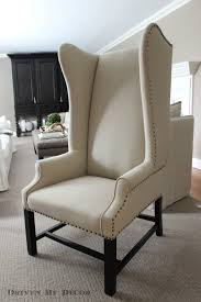 Wingback Accent Chair Marshall Home Goods Furniture In Simple Fresh Tall Wingback Accent