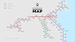 Dart Dallas Map by Irish Commuters Pay Housing Premium For Living By Train Stops