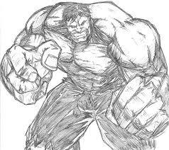 incredible hulk sketch ribs7 deviantart