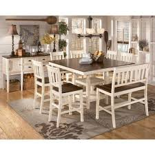 whitesburg counter height dining room set signature design