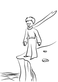 the little prince on earth coloring page free printable coloring