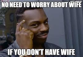 Internet Wife Meme - black guy thinking meme happy wishes